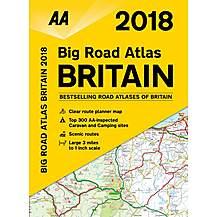 image of Big Road Atlas Britain 2018 sp
