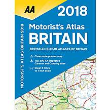 image of Motorist's Atlas Britain 2018 sp