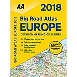 Big Road Atlas Europe 2018