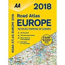 image of Road Atlas Europe 2018 sp