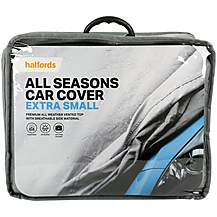image of Halfords All Seasons Car Cover Extra Small