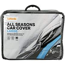 image of Halfords All Seasons Car Cover Large