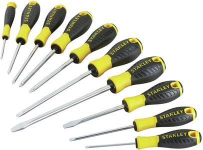Stanley 10-Piece Screwdriver Set