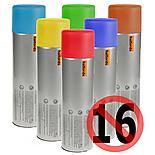 Halfords Plastic Primer Red Spray 300ml