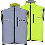 image of Proviz Switch Cycling Gilet Silver/Yellow