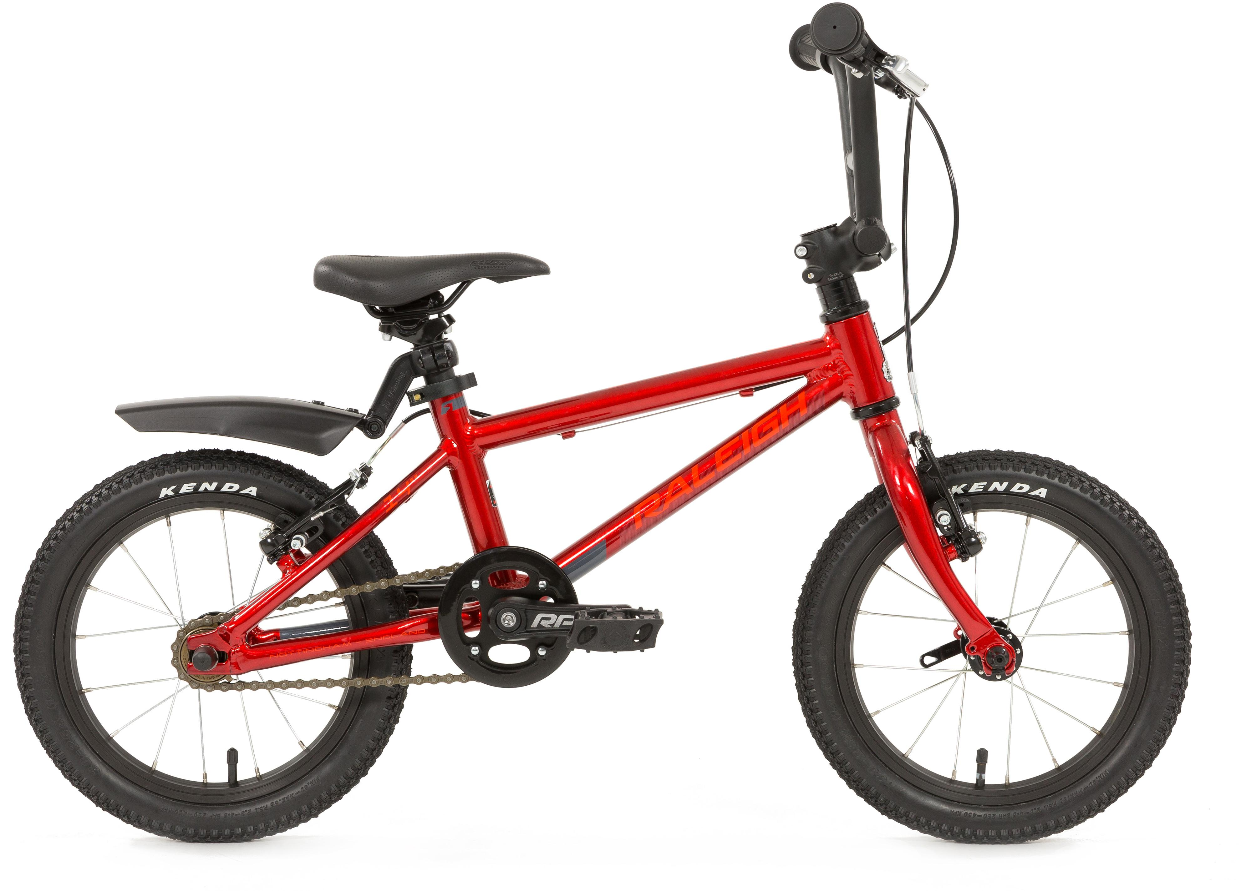 Raleigh Performance Bike Red - 14 inch Wheel