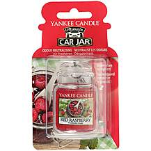 image of Yankee Candle Car Jar Ultimate Air Freshener in Red Raspberry