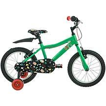 "image of Raleigh Atom Kids' Bike - 16"" Wheel - Green"