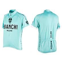 image of Nalini Mens Bianchi Short Sleeve Cycling Jersey