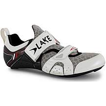 image of Lake TX222 Triathlon Carbon Shoe White/Black