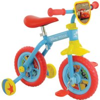 Disney Pixar Switch It Multi Character 2 In 1 Training Bike   10 Inch Wheel