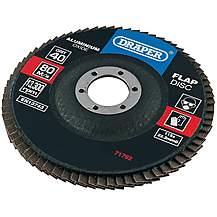 image of Draper 115mm Flap Discs