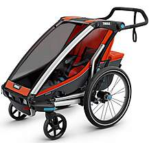image of Thule Chariot Cross 1 Multisport Child Trailer - Roarange