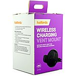 image of Halfords Wireless Charging Vent Mount