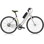 "image of Gtech City Lowstep Electric Hybrid Bike - 17"" Frame"