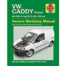 image of Haynes VW Caddy Diesel (04-15) Manual