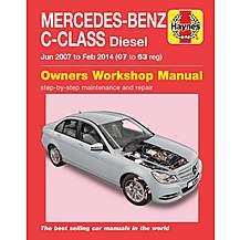 image of Haynes AMerecedes-Benz C-Class Diesel (07-14) Manual