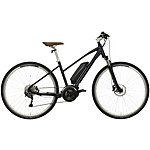 "image of Carrera Crossfuse Womens Electric Hybrid Bike - 17"", 19"" Frames"