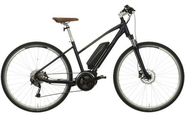 Carrera Crossfuse Womens Electric Hybrid Bike
