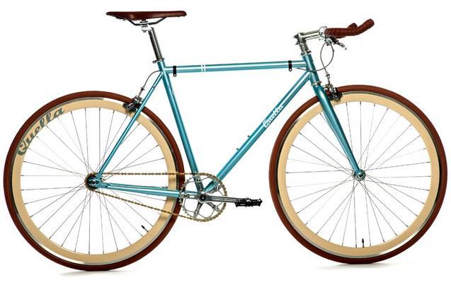Quella Varsity Cambridge Fixie Bike...