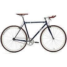 image of Quella Varsity Oxford Fixie Bike - 51, 54, 58, 61cm Frames