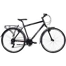 "image of Indigo Regency LX Mens Alloy Hybrid Bike - 17.5"", 20"" Frames"