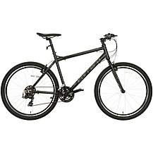 image of Carrera Parva Mens Hybrid Bike - Black