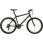 image of Carrera Parva Mens Hybrid Bike - Black