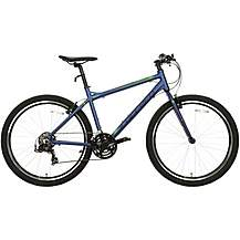 "image of Carrera Parva Mens Hybrid Bike - Blue, 16"", 18"", 20"" Frames"