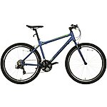 image of Carrera Parva Mens Hybrid Bike - Blue