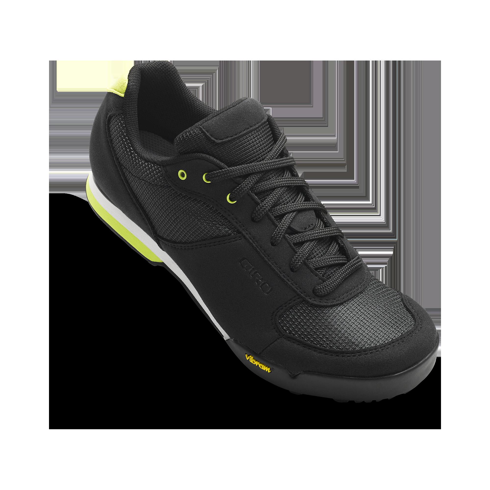 Giro Petra Vr Women'S Mountain Bike Cycling Shoes, Black/Wild Lime, 40