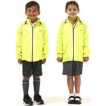 image of Ridge Kids Jacket - Fluro Yellow