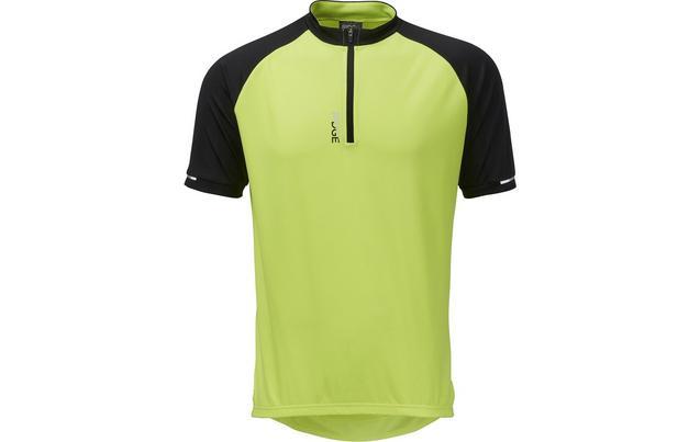 49a195cb0 Ridge Mens Cycle Jersey - Yellow Bl...