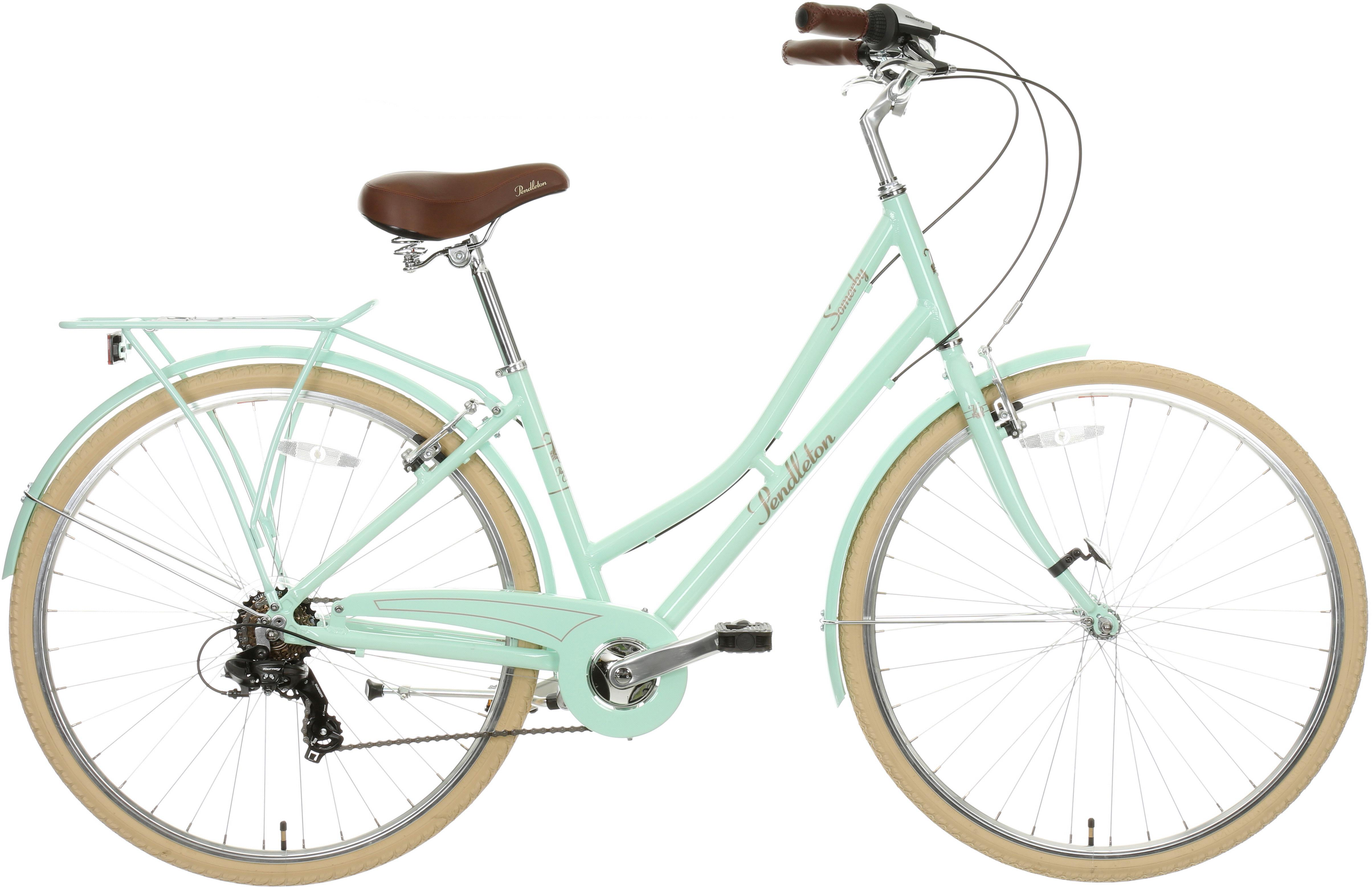 Pendleton Somerby Hybrid Bike - Mint 19 inch