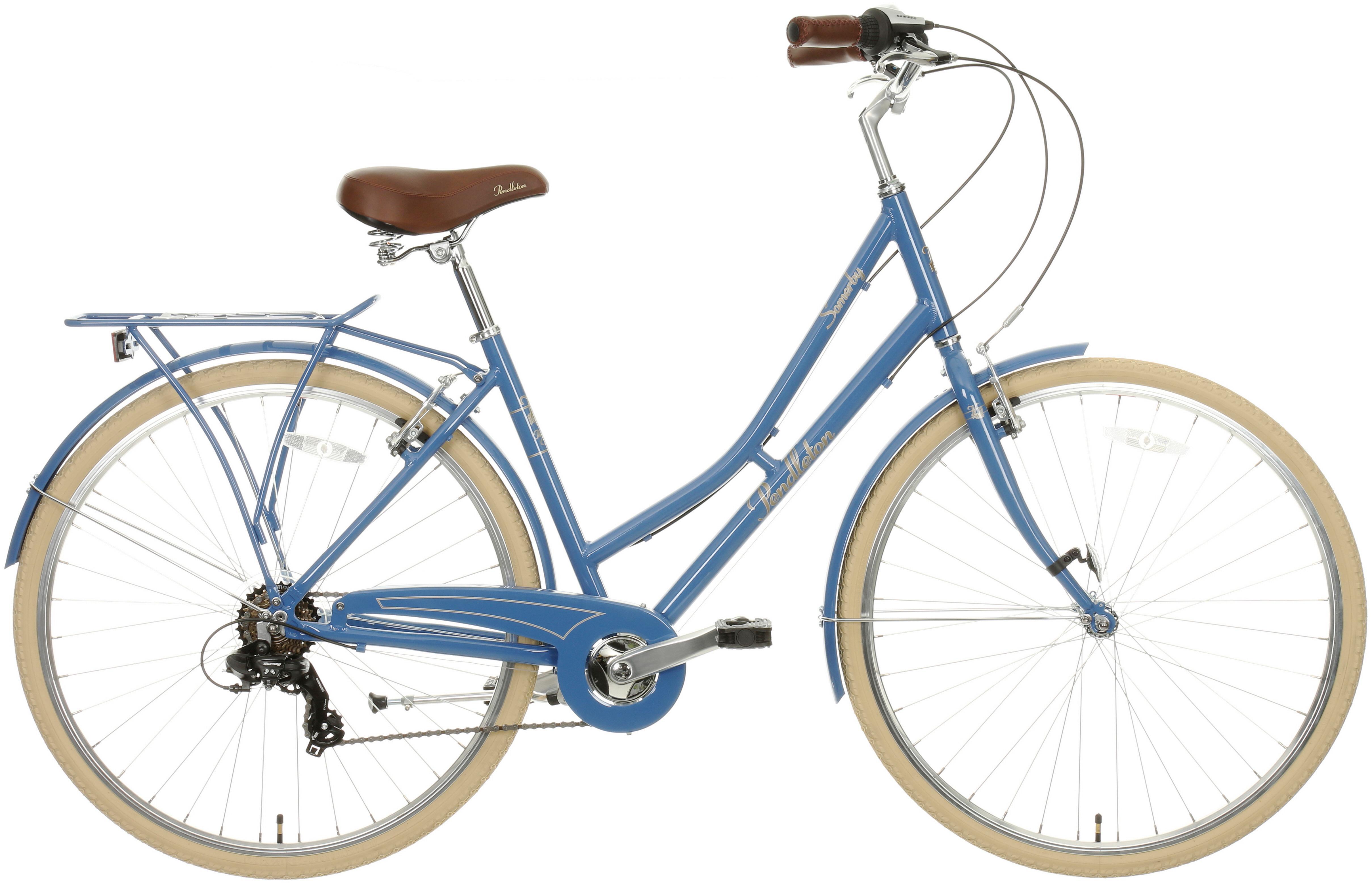 Pendleton Somerby Hybrid Bike - Denim Blue 17 inch