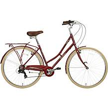 image of Pendleton Somerby Hybrid Bike - Maroon Red