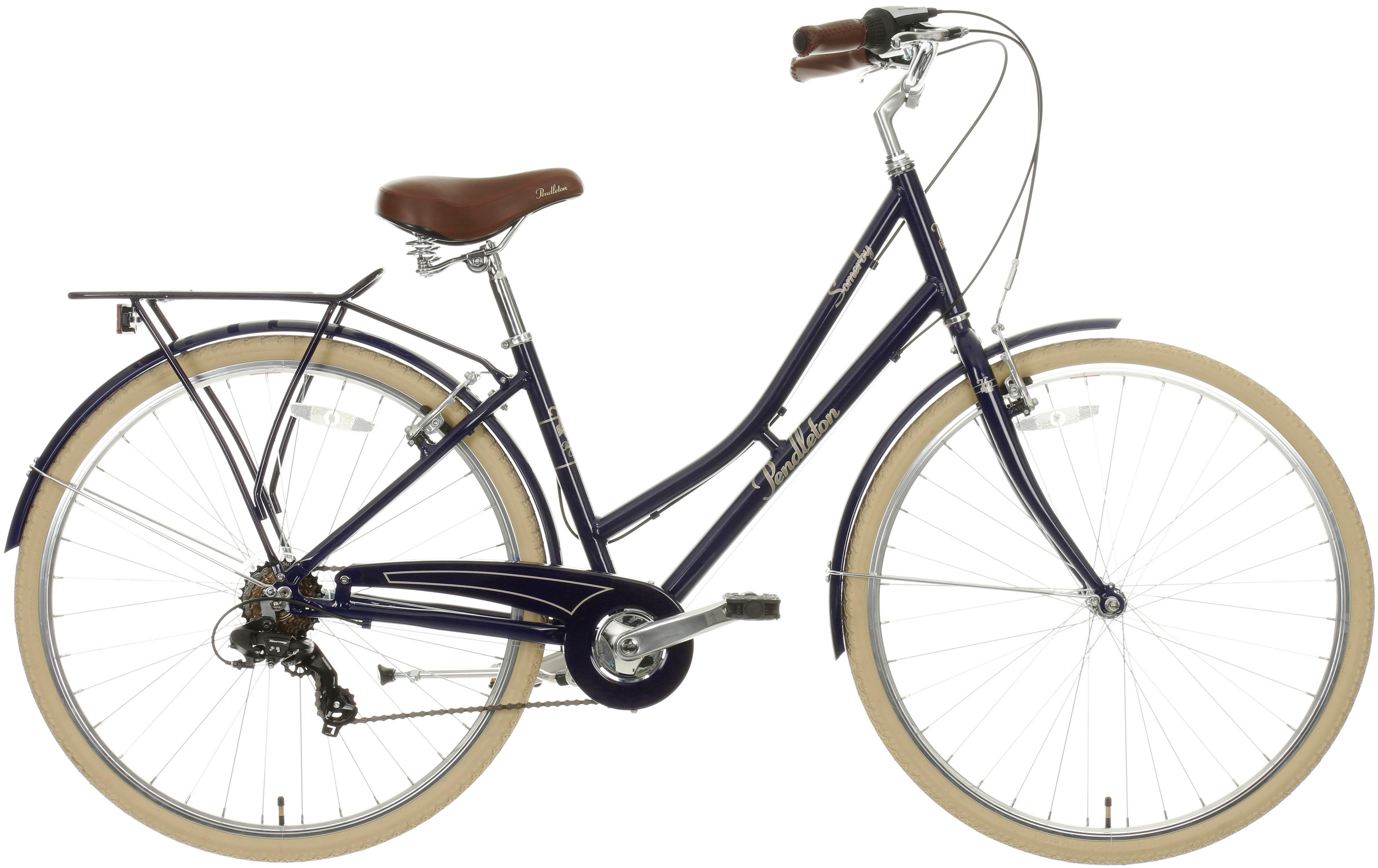 Pendleton Somerby Hybrid Bike - Midnight Blue 17 inch