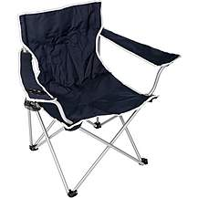image of Halfords Camping Arm Chair - Navy