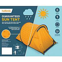 Halfords Guaranteed Sun Tent