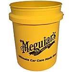 image of Meguiars RG203 5 Gallon Yellow Bucket