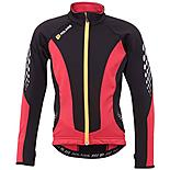 Polaris Venom Cycling Jersey Red/Black w/Yellow Zip