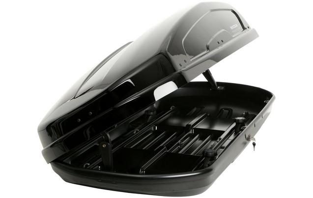 Exodus 470L Black Roof Box