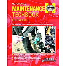 image of Haynes Motorcycle Maintenance TechBook
