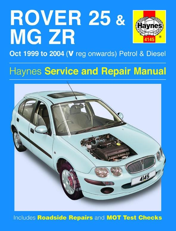 haynes rover 25 mg zr oct 99 0 rh halfords com mg zr repair manual MG ZS