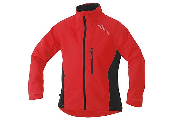 Halfords Altura Mens Ascent Waterproof Jacket Red
