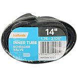 Halfords Schrader Bike Inner Tube 14 x 1.75-2.125