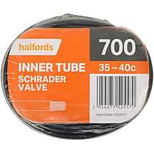 Halfords Schrader Inner Tube 700 x 35 - 40c