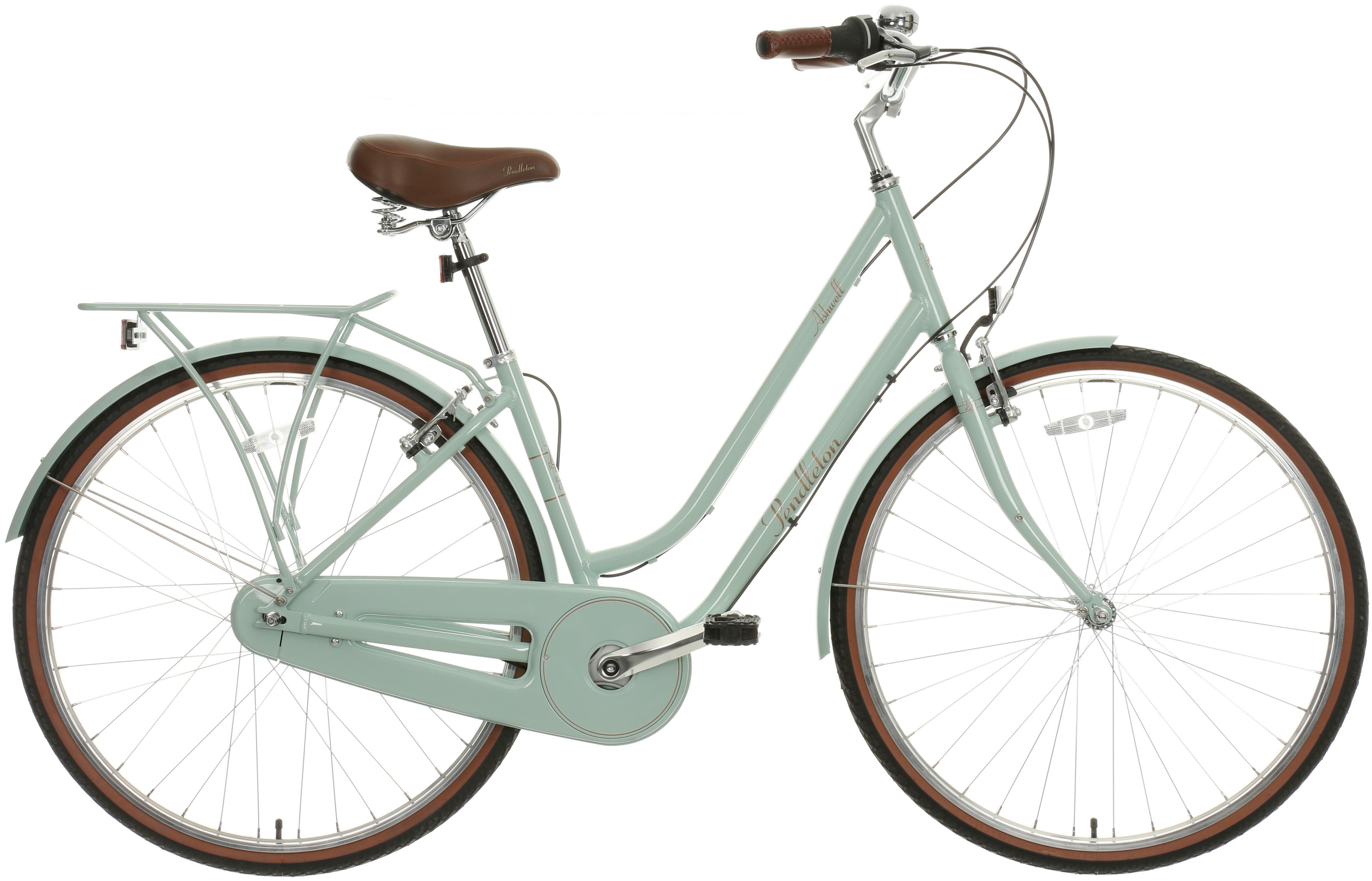 Pendleton Ashwell Sage Hybrid Bike - 17 inch