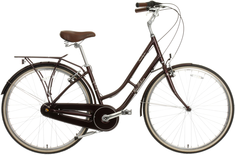 Pendleton Somerby Deluxe Hybrid Bike - Plum 17 inch