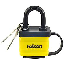 image of Rolson 40mm Laminated Padlock